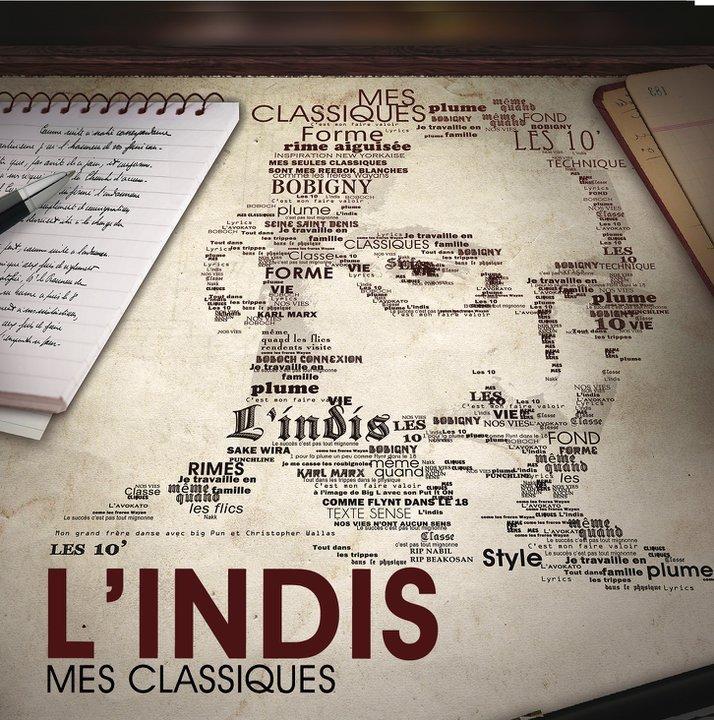 L'indis - Mes classiques 166227_140665975990221_100001404579372_235378_7646208_n